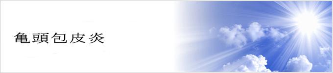 炎 亀頭 治療 包皮